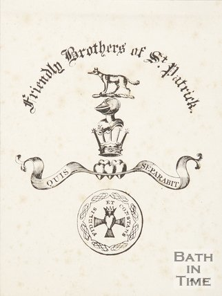 Poster For The Friendly Brothers of St Patrick, c.19th
