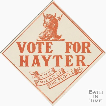 Election Poster For Hayter, The Friend Of The People, 1873-1885