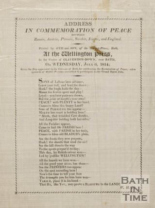 Poem Commemorating Peace, 1814, On Silk