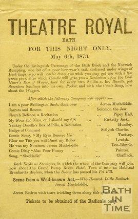 Satirical Political Poster, 1873