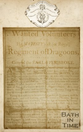 Advertisement For His Majesty's 1st (or Royal) Regiment of Dragoons, 1815