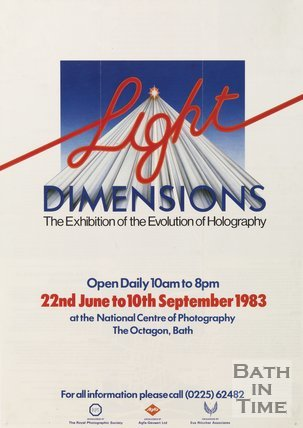 Advertisement For The Light Dimensions Exhibition, 1983
