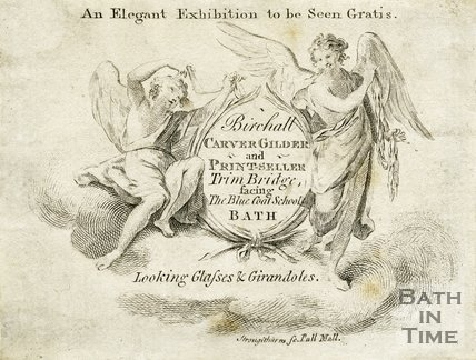 Trade Card for Thomas BIRCHALL aka Burchall, Trim Bridge, Bath c.1800?