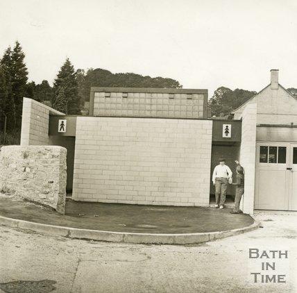 New public toilets in Twerton, 5 July 1971