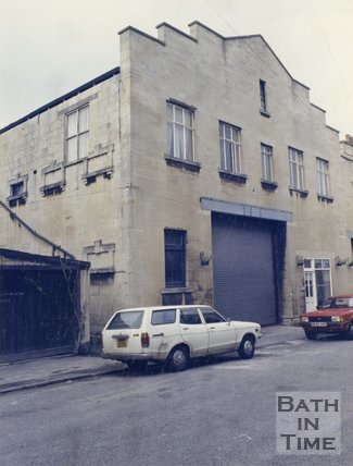 Twerton old gaol, October 23 1987