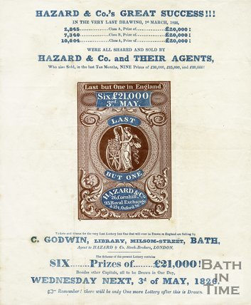 Trade Card for HAZARD & Co, London 1826