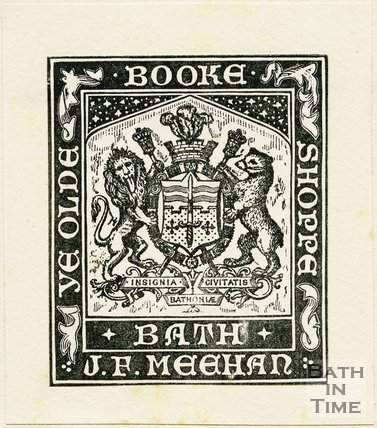 Trade Card for J. F. MEEHAN, Bath 1900