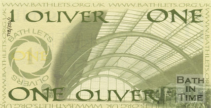 Trade Card for OLIVER, Bath 2010