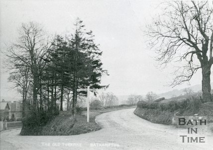 The Old Turnpike, Warminster Road, Bathampton, c.1905