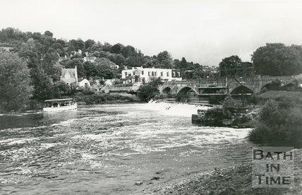 River Avon At Bathampton, 1987