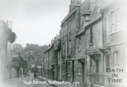 Batheaston High Street, c.1917