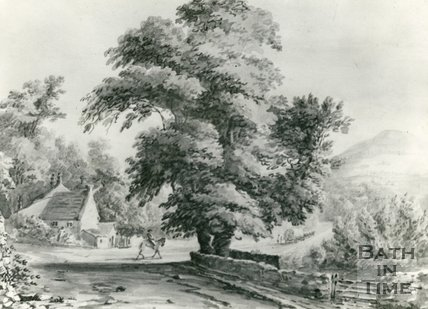 The Bridge and Fiveways, Batheaston, c.1860