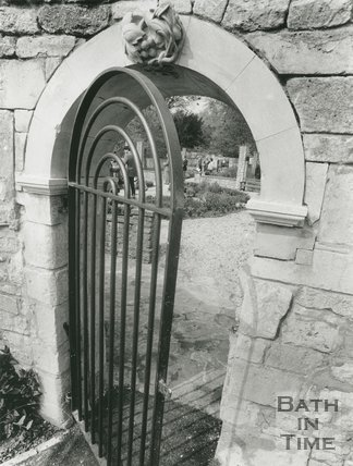 Batheaston Secret Garden Gate, April 1991