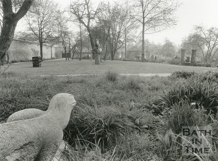 Batheaston Secret Garden Landscape, April 1991