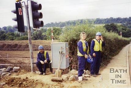 Batheaston Bypass Security Guards, 1994