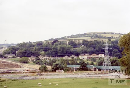 Batheaston Bypass Under Construction, 1994