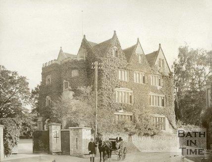 The Castle at Beckington, c.1900