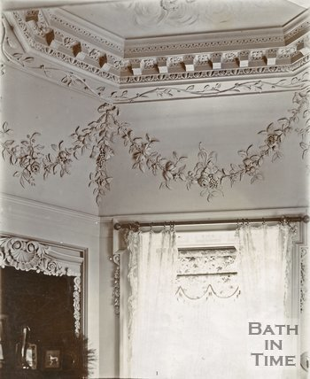 Belcombe Brook Interior Plasterwork, near Bradford-on-Avon, c.1903