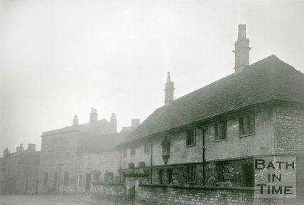 Bradford-on-Avon Almshouses, 1945