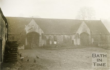 Bradford-on-Avon Tithe Barn, 1945