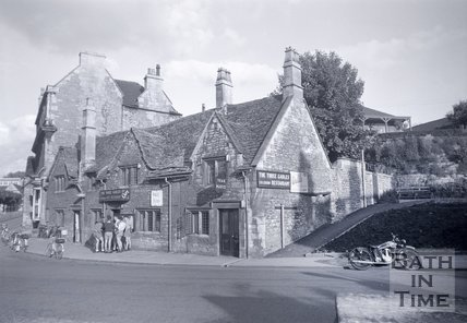 The Three Gables cafe and restaurant, Bradford-on-Avon, c.1950s?