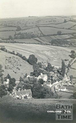 View of Charlcombe, c.1910