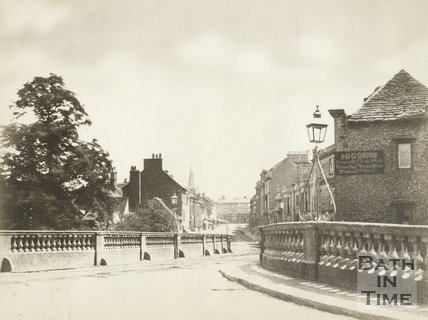 Chippenham Old Bridge, c.1880