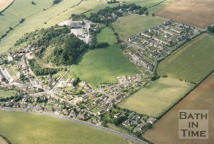 Clandown and Farm Aerial View, 1993