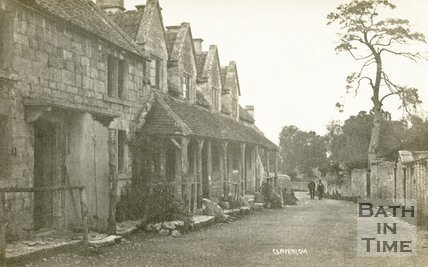 Cottages in Claverton, near Bath c.1920