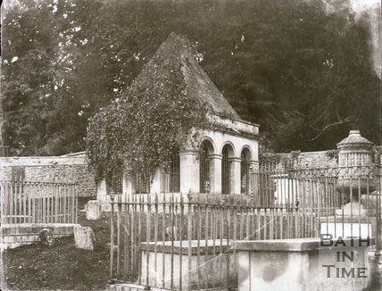 Ralph Allen's Mausoleum, Claverton Churchyard  c.1853-1861