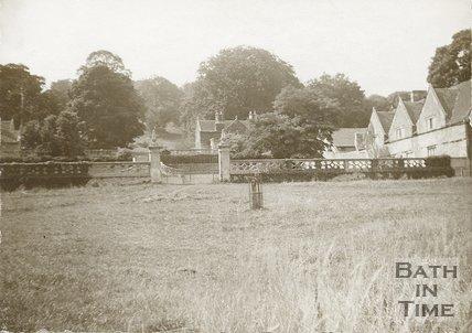 Claverton Terraces, near Bath, c.1900