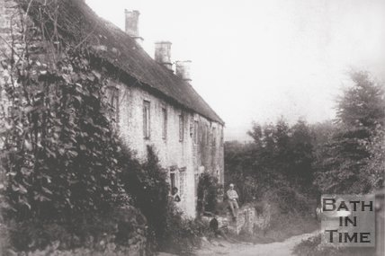 Dunkerton Cottages, near Bath, 1889
