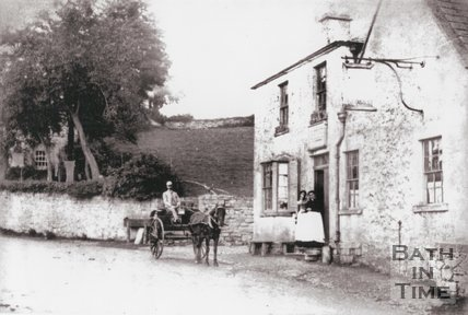 The Swan Inn, Dunkerton, near Bath, 1889