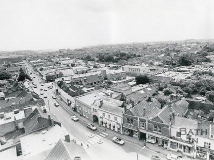Keynsham High Street, 1986