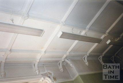 Ceiling Detail, Ellsbridge House, Keynsham, 1991