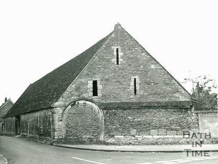 Sixteenth Century Tithe Barn, Lacock, 1972