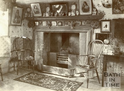 Goudies Farm Interior, Langridge, c.1880