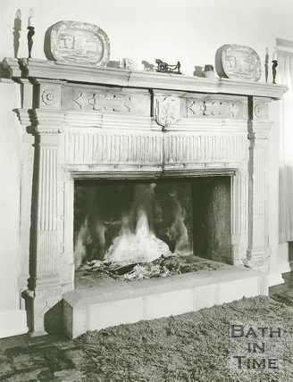 Court Farm Fireplace, Langridge, c.1980s?