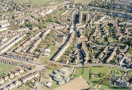 Larkhall Aerial View 1995