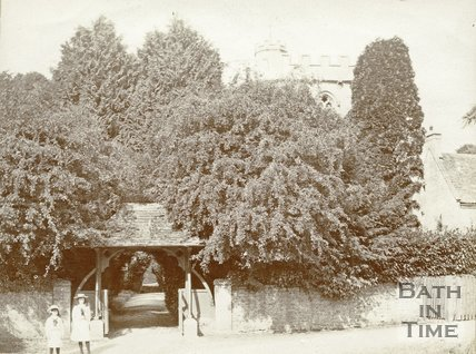 The Lych-gate, Lullington, c.1880