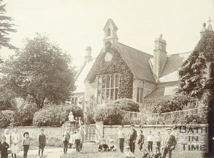 The School, Lullington, c.1880