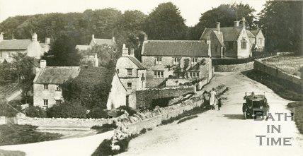 Marksbury, Somerset, View Of Road, 1928