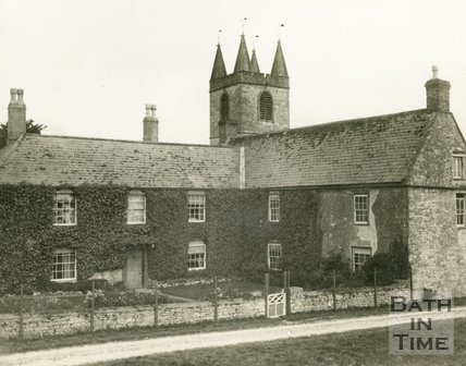 Marksbury, Somerset, House and Church, 1928