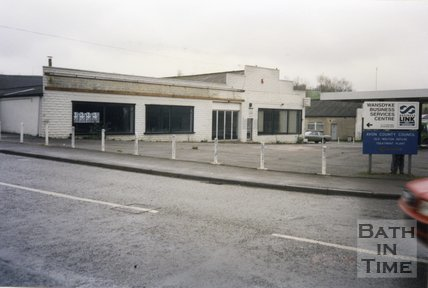 Midsomer Norton, Somerset, Somer Garage Site Forecourt, March 1996