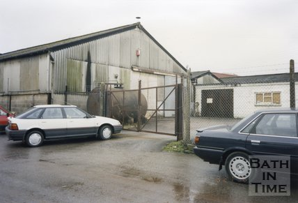 Midsomer Norton, Somerset, Somer Garage Site Cars, March 1996