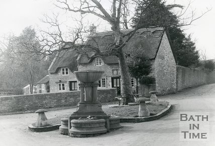 Newton St. Loe, near Bath, The Thatch, c.1980s