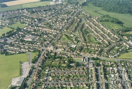 Odd Down, Bath, Aerial View, 1994