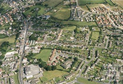 Peasedown St. John, Somerset, Aerial View, 1993