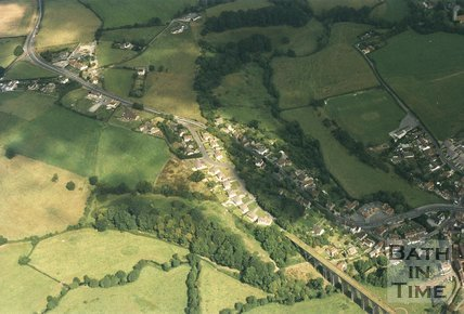 Pensford, near Bristol, Aerial View, 1993