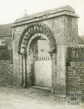 Queen Charlton, Somerset, Norman Archway, 1929